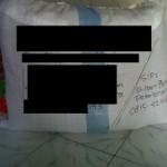 Ini adalah beberapa bukti pengiriman barang – resi pengiriman – dan packing barang