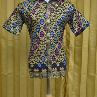 Baju Batik Kantor Motif  Prada