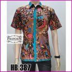 kemeja batik pekalongan classic – HB 387
