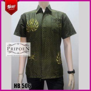 kemeja batik motif jokowi – HB 506