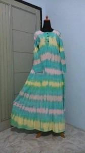 dress tiedye pekalongan